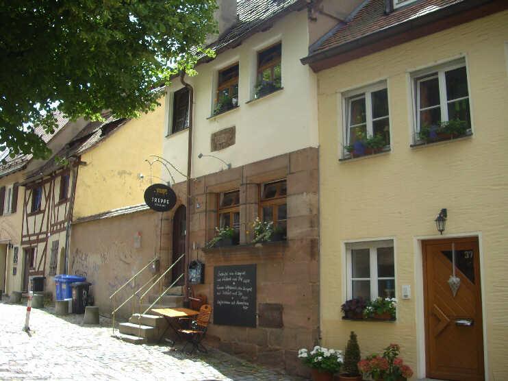 Treppen Nürnberg am ölberg 2